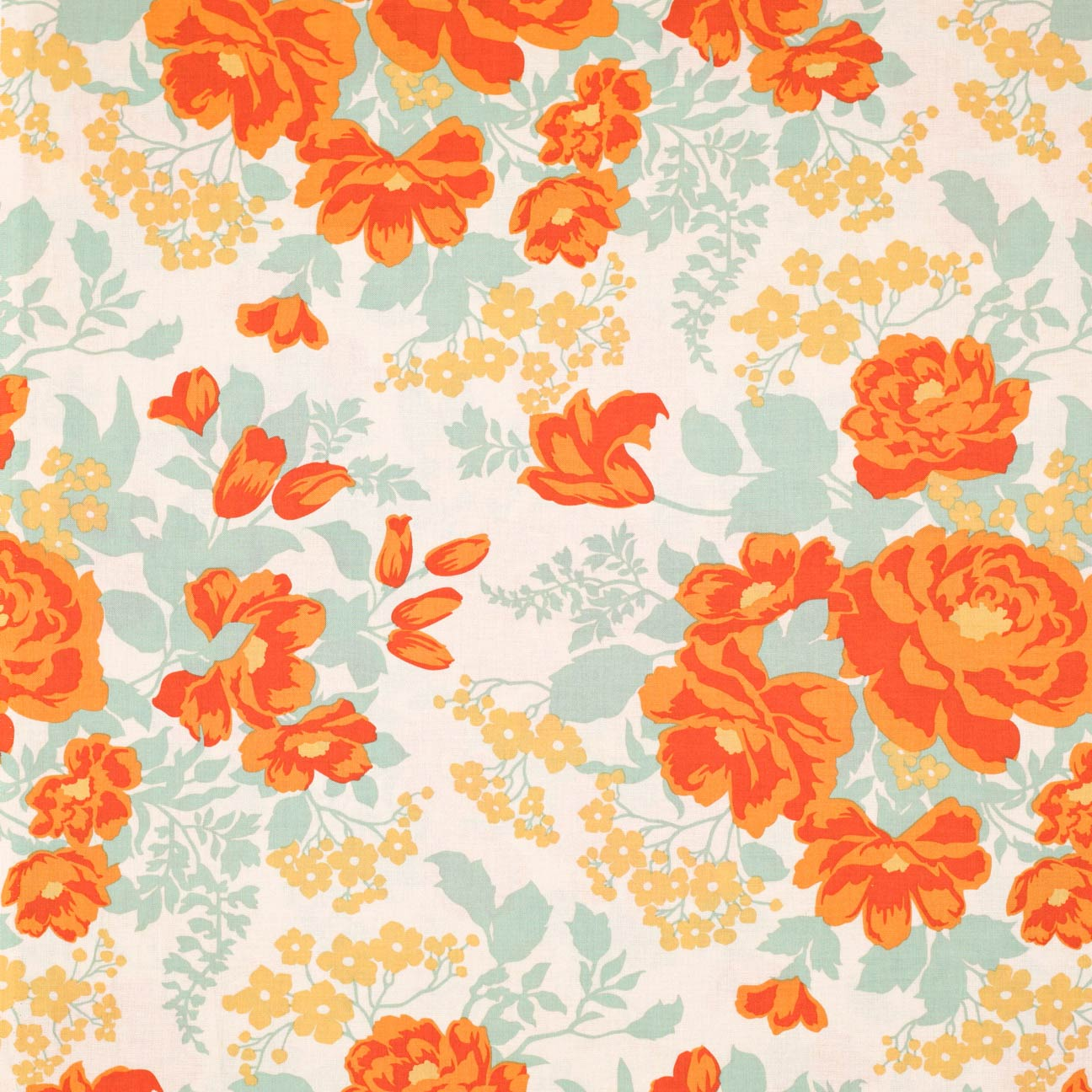 Wallpapers, Orange And Floral On Pinterest