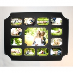 One 11x14 with twelve 5x7's- Collage Frame - FOTW 25% discount
