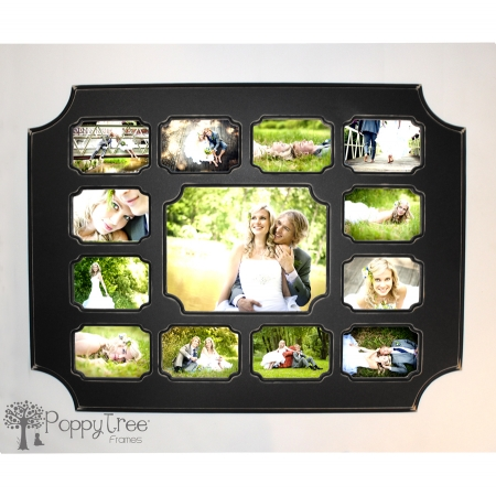 One 11x14 with twelve 5x7\'s- Collage Frame