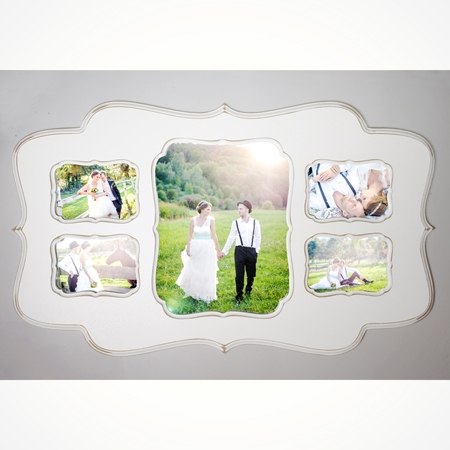One 11x14 with four 5x7\'s - Collage Frame