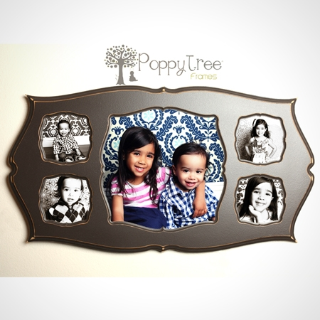 One 12x12 and Four 5x5\'s - Collage Frame